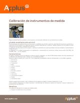 Calibración de instrumentos de medida