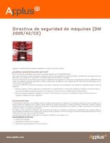 Directiva de seguridad de máquinas (DM 2006/42/CE)