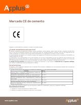 Marcado CE de cemento
