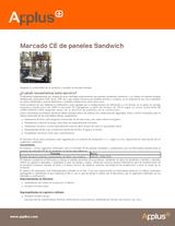 Marcado CE de paneles sandwich