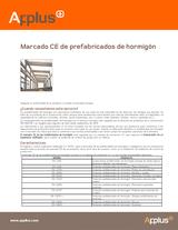Marcado CE de prefabricados de hormigón