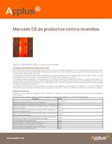 Marcado CE de productos contra incendios