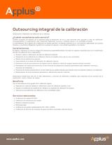Outsourcing integral de la calibración