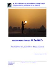 PRESENTACION ALFAINCO