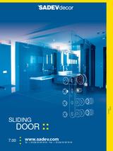 Sistemas para puertas correderas de vidrio MEDIO