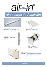 Aireadores de admisión