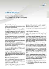 IS008 Laser Technology