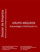 DOSSIER GRUPO ARQUEOX 2011