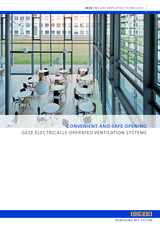 Electrically Operated Ventilation Product Brochure