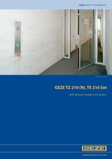 TZ 210 N / TE 210 Set Product Brochure