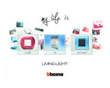 Serie de mecanismos, interruptores y domótica LIVINGLIGHT