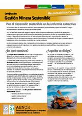 Certificación de Minería Sostenible