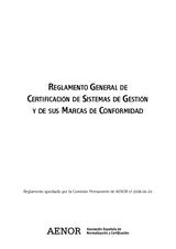 Reglamento General Certificacion