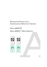 Reglamento General para la Certificación