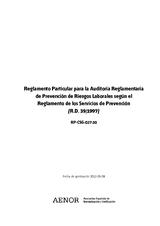 Reglamento Particular para la Auditoría