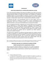 Resultados Esperados ISO 9001