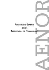 Reglamento General de los Certificados