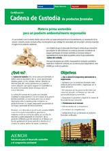 Certificación Cadena de Custodia de productos forestales