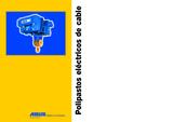 Información polipastos eléctricos de cable