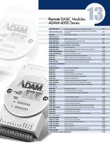 13 Remote DA&C Modules ADAM-4000 Series