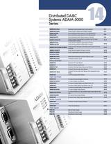 14 Distributed DA&C Systems ADAM-5000 Series