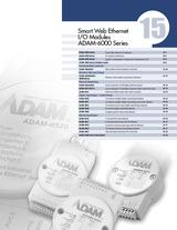 15 Smart Web Ethernet I-O Modules ADAM-6000 Series