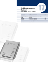17 Building Automation Systems BAS-2000 Series
