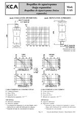 Boquillas de agua-espuma de baja expansión UAS