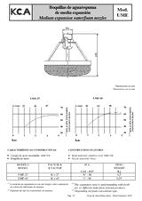 Boquillas de agua-espuma de media expansión UME
