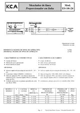 Mezclador de línea ES-10-24