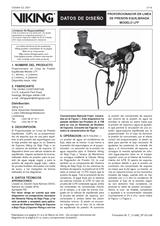 Proporcionador en línea de presión equilibrada modelo LFF