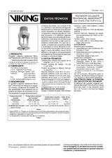 Rociador colgante residencial Microfast VK430