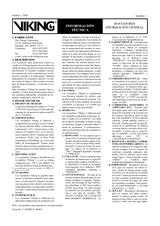 Rociadores Información general