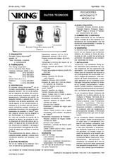 Rociadores Micromatic Modelo M