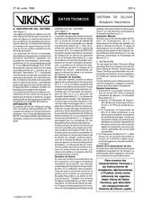 Sistema de diluvio actuación neumática