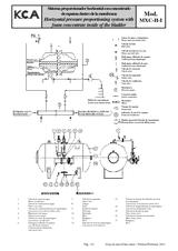 Sistema proporcionador horizontal MXC-H-I-a