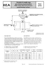 Sistema proporcionador vertical u horizontal MXC-I MXC-H-I y KWR
