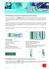 Ficha de Producto OPTIMUS