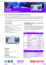 Ficha de producto CS IS/ CS WAVE MDL