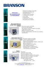 Catálogo BRANSO Desintegradores
