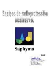 Catálogo SAPHYMO Dosiometria