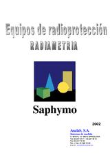 Catálogo SAPHYMO Radiametria