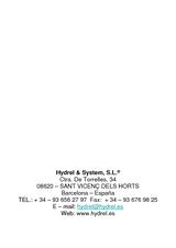 Datos Hydrel