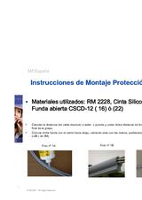 Instrucciones de montaje Protección Avifauna 3M