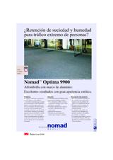 Nomad Optima 9900 - Alfombrilla con marco de aluminio