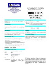 Bricofix Tapagrietas Universal