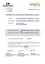 Informe Clasificación Orbasil N-28