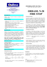 Orbasil N-28 Fire Stop