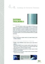 Reparación interior de tuberías. Sistema Trolining