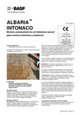 Albaria Intonaco